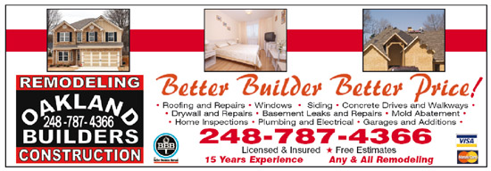 Oakland Builders Remodeling Construction